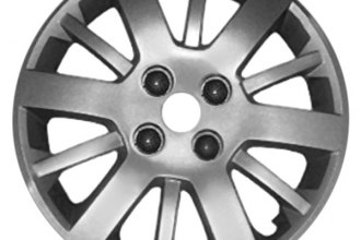 "Replace® - 15"" Remanufactured 12-Spoke Silver Wheel Cover"