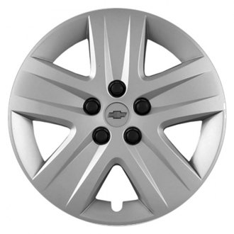 "Replace® - 17"" 5 Spokes Silver Wheel Cover"
