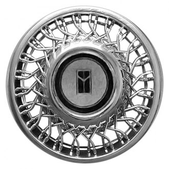 "Replace® - 14"" Remanufactured Silver Wheel Cover"