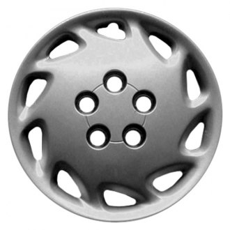 "Replace FWC04124U20 - 15"" Remanufactured 10 Slots Silver Wheel Cover"