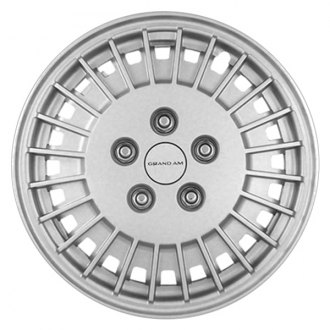 "Replace® - 13"" Remanufactured 24 Ribs Silver Wheel Cover"