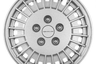 "Replace® - 13"" Remanufactured 24-Rib Silver Wheel Cover"