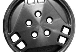"Replace® - 14"" Remanufactured 6-Hole Silver Wheel Cover"