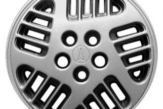 "Replace® - 14"" Remanufactured 20-Slot Silver Wheel Cover"