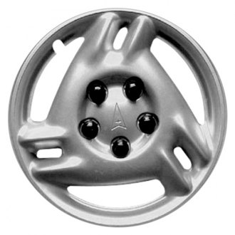 "Replace® - 15"" 3 Slots Silver Wheel Cover"