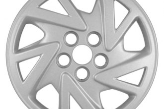 "Replace® - 14"" Remanufactured 5-Spoke Silver Wheel Cover"