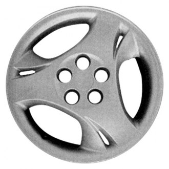 "Replace® - 15"" Remanufactured 3 Spokes Silver Wheel Cover"