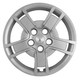 "Replace® - 16"" 5 Spokes All Painted Silver Wheel Cover"