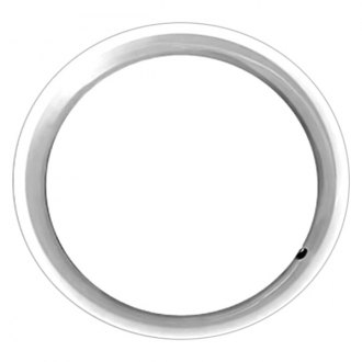 "Replace® - 18"" Remanufactured Silver Wheel Trim Ring"
