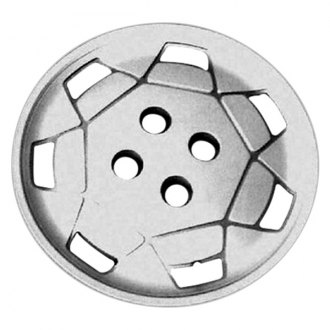 "Replace® - 14"" Remanufactured 7 Slots Silver Wheel Cover"