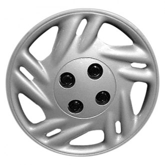 "Replace® - 14"" Remanufactured 10 Spokes Silver Wheel Cover"