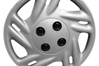 "Replace® - 14"" Remanufactured 10-Spoke Silver Wheel Cover"