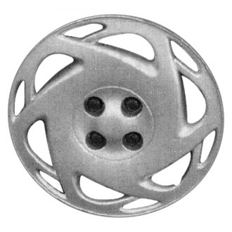 "Replace® - 15"" Remanufactured 12 Slots Silver Wheel Cover"