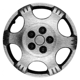 "Replace® - 16"" 6 Spokes Silver Wheel Cover"