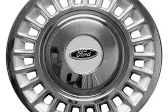 "Replace® - 16"" Remanufactured 24-Slot Chrome Wheel Cover"
