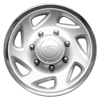 "Replace® - 16"" Remanufactured 7-Slot Silver Wheel Cover"
