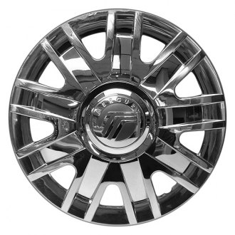 "Replace® - 17"" Remanufactured 9 Spokes Chrome Wheel Cover"