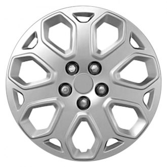 "Replace® - 16"" 7 Spokes All Painted Silver Wheel Cover"