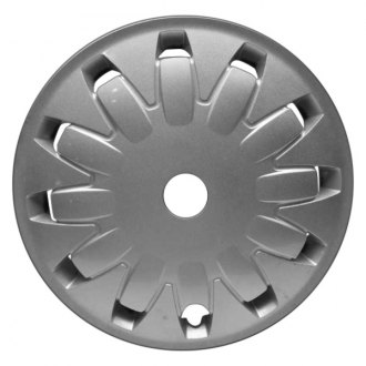 "Replace® - 16"" 12 Holes All Painted Silver Wheel Cover"
