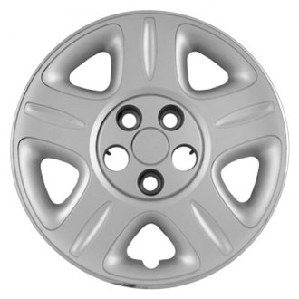 "Replace® - 16"" 5 Flat Spokes Silver Wheel Cover"