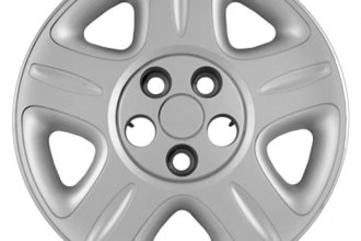 "Replace® - 16"" Remanufactured 5-Flat-Spoke Silver Wheel Cover"