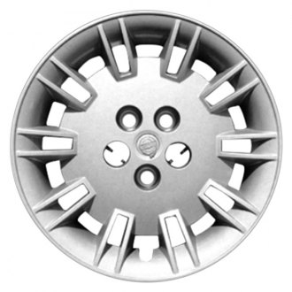 "Replace® - 17"" Remanufactured 20 Spokes All Painted Silver Wheel Cover"