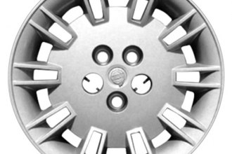 "Replace® - 17"" Remanufactured 20-Spoke Silver Wheel Cover"