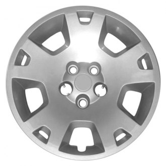 "Replace® - 17"" 10 Spokes All Painted Silver Wheel Cover"