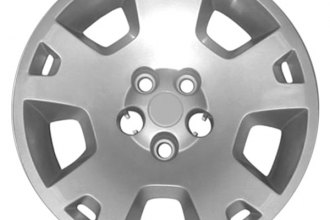 "Replace® - 17"" Remanufactured 10-Spoke Silver Wheel Cover"