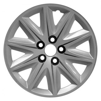 "Replace® - 17"" Remanufactured 10 Spokes Silver Wheel Cover"