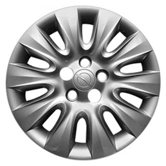 "Replace® - 17"" Remanufactured 10 Spokes Medium Silver Sparkle Wheel Cover"
