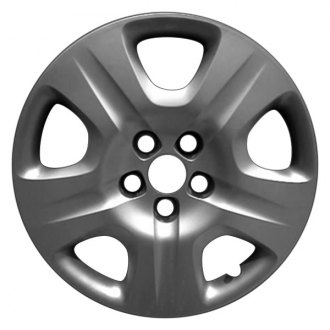 "Replace® - 16"" Remanufactured 5 Spokes All Painted Silver Wheel Cover"
