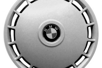 "Replace® - 14"" Remanufactured 15-Slot Silver Wheel Cover"