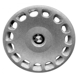 "Replace® - 15"" Remanufactured 15 Holes Silver Wheel Cover"