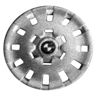 "Replace® - 16"" Remanufactured 12 Holes Silver Wheel Cover"