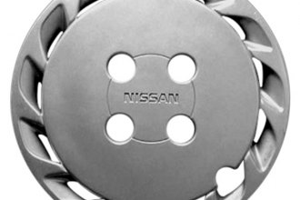 "Replace® - 14"" Remanufactured 13-Slot Silver Wheel Cover"