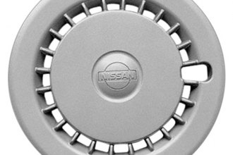 "Replace® - 13"" Remanufactured 24-Square-Hole Silver Wheel Cover"
