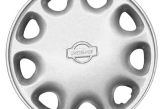 "Replace® - 13"" Remanufactured 9-Hole Silver Wheel Cover"