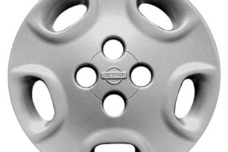 "Replace® - 14"" Remanufactured 5-Hole Silver Wheel Cover"