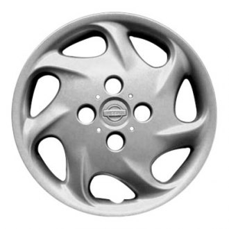 "Replace® - 15"" 7 Spokes All Painted Silver Wheel Cover"