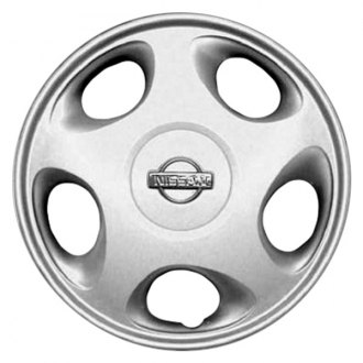 "Replace® - 15"" Remanufactured 5 Holes Silver Wheel Cover"