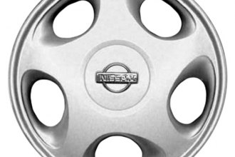 "Replace® - 15"" Remanufactured 5-Hole Silver Wheel Cover"