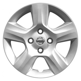 "Replace® - 16"" Remanufactured 5 Spokes Silver Wheel Cover"