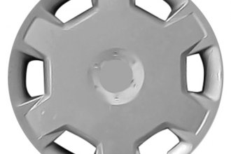 "Replace® - 16"" Remanufactured 10-Spoke Silver Wheel Cover"