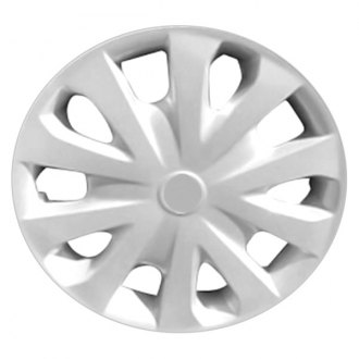 Replace® - Remanufactured 10 Spokes All Painted Silver Wheel Cover