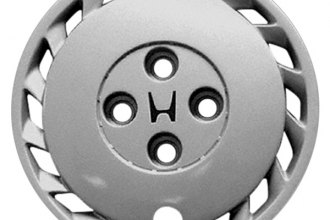 "Replace® - 13"" Remanufactured 16-Spoke Silver Wheel Cover"