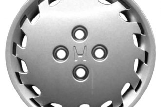 "Replace® - 14"" Remanufactured 14-Spoke Silver Wheel Cover"
