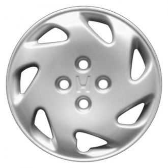 "Replace® - 14"" Remanufactured 7-Spoke Silver Wheel Cover"