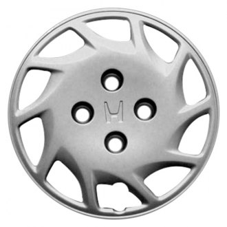 "Replace® - 14"" 10 Slots Silver Wheel Cover"