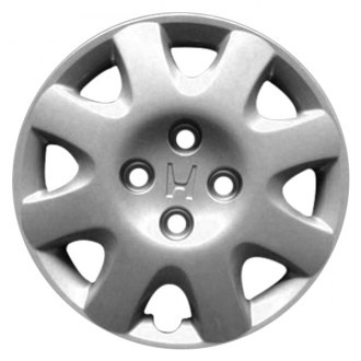 "Replace® - 14"" Remanufactured 8 Spokes Silver Wheel Cover"